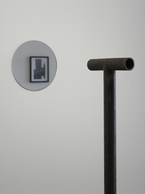 , 'Locator with Mirror,' 1972, Parafin