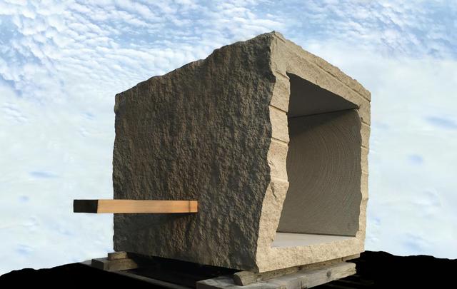, 'ZaZen, Stone Tea House, Meditative Alcove,' 2016, Gallery Japonesque