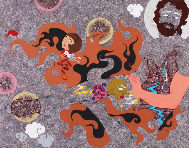, 'Firecracker Life,' 2011, Aki Gallery