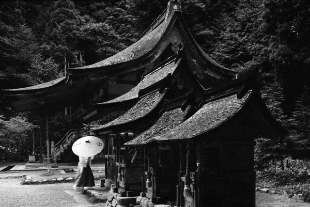 , 'A Buddist Temple in Kyoto,' 1990, Tang Feng Gallery