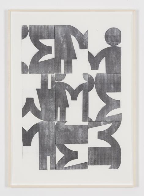 , 'Sans titre (Transfer),' 2015, VALENTIN