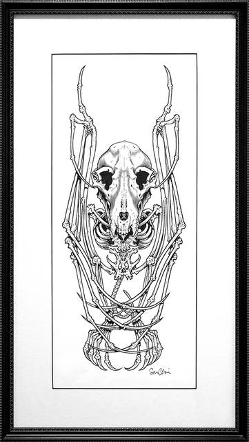 , 'Just A Bat Skeleton Of Sorts, I Guess,' 2005, Subliminal Projects