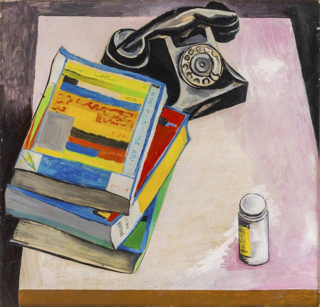 Renato Guttuso, 'Natura morta con telefono e oggetti su un tavolo', 1967, ArtRite