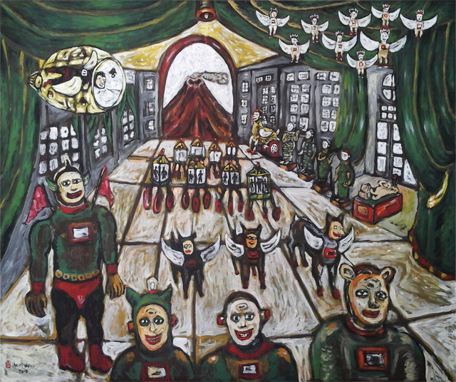 , 'Art Installations Escape from Volcano Eruption,' 2018, Mizuma Art Gallery