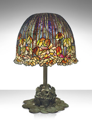 A Rare and Important 'Pond Lily' Table Lamp