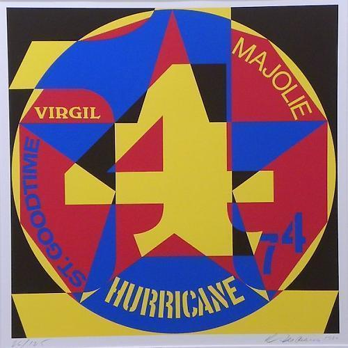 Robert Indiana, 'Decade Autoportrait-Hurricane,' 1980, Vertu Fine Art