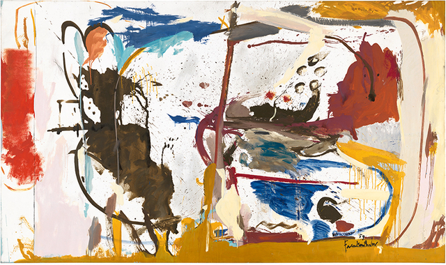 , 'First Creatures,' 1959, Helen Frankenthaler Foundation