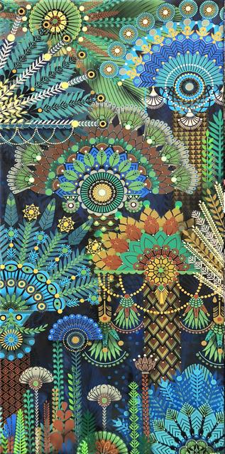 , 'Palm Garden 5,' 2018, Jonathan LeVine Projects