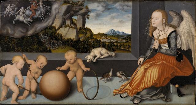 , 'Melancholy,' 1532, Statens Museum for Kunst