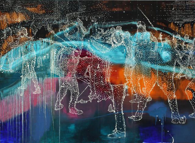 , 'Vapour Line,' 2016, Dominik Mersch Gallery