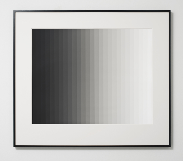 , 'Photogram 3 (Vertical),' 2013, Ingleby Gallery
