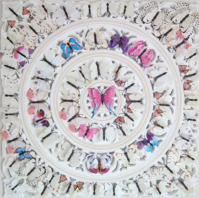 Bali Love Jenkins, 'Le Papillon II', 2021, Sculpture, Board, Plastic & Mixed Media, Alessandro Berni Gallery