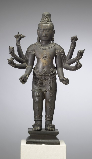 'Eight-armed Avalokiteshvara', ca. 12th-13th century, Walters Art Museum