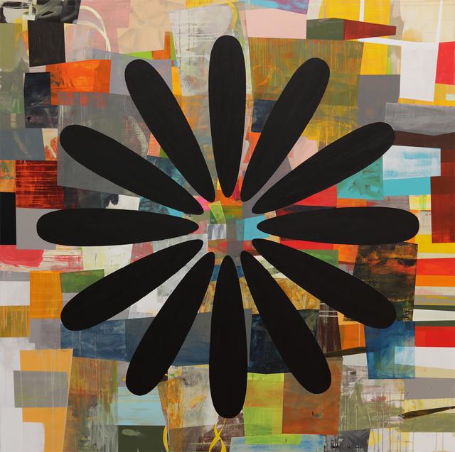 , 'Black Daisy,' 2015, George Lawson Gallery