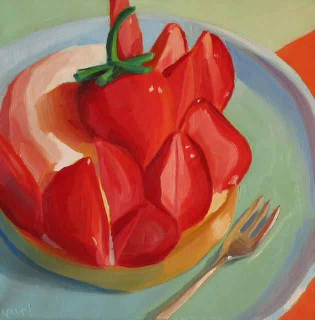 Yuri Tayshete, 'Farmers Market Strawberries & Cream Tart', 2019, 440 Gallery
