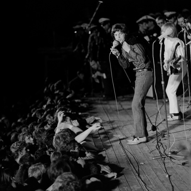 , 'Rolling Stones in der Waldbühne,' 1965, CAMERA WORK