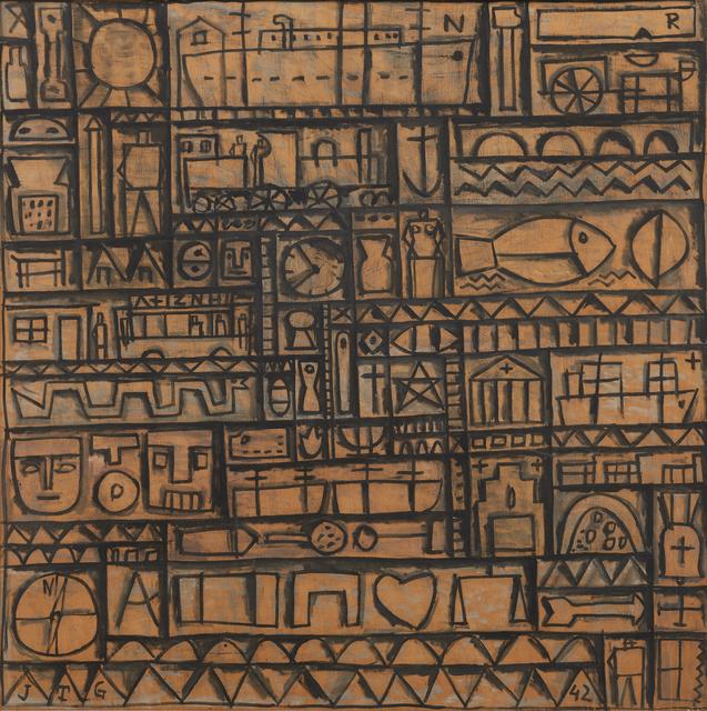 , 'Arte constructivo universal [Universal Constructive Art],' 1942, Acquavella Galleries