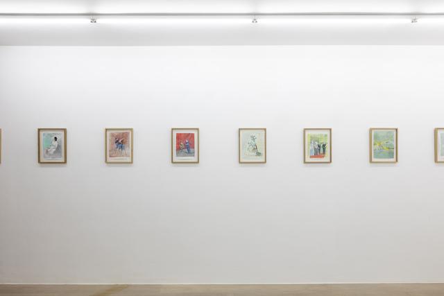 Jan Vanriet, 'Heldenleven 30, Meeloper', 2019, Drawing, Collage or other Work on Paper, Gouache on paper, Galerie Zwart Huis