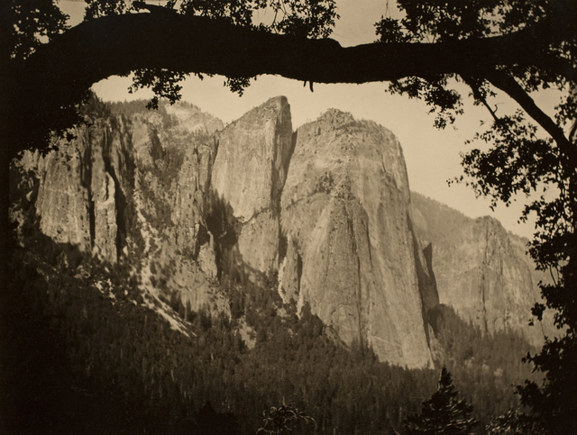 , 'Cathedral Rocks, Yosemite,' 1911, George Eastman Museum