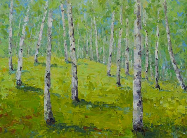 Cynthia Reid, 'Woodland Walk', 2019, Addison Art Gallery