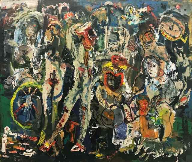 ", '""Spiny Armistice"",' 2018, Vanda Art Gallery"
