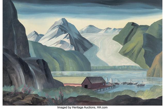Dale Nichols, 'Alaskan Inlet', Heritage Auctions