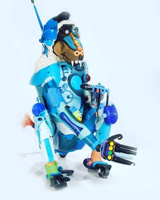, 'Blue Baboon,' 2015, Contessa Gallery
