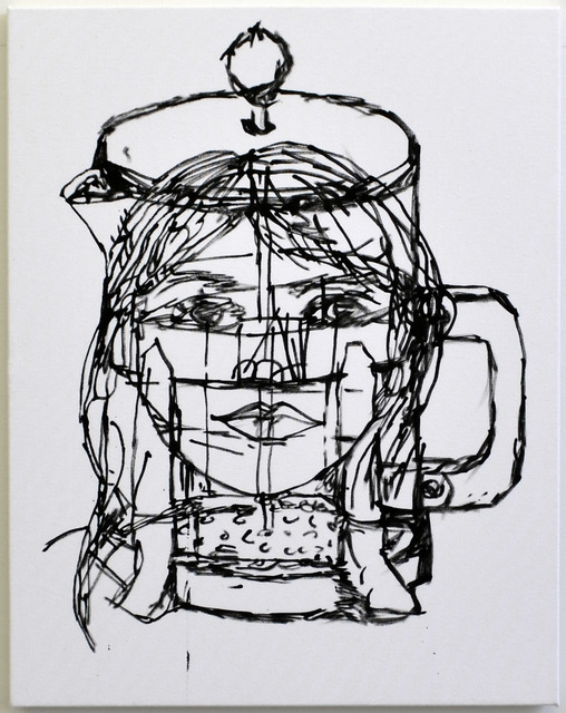 , 'Vertical Figure,' 2015, Johannes Vogt Gallery