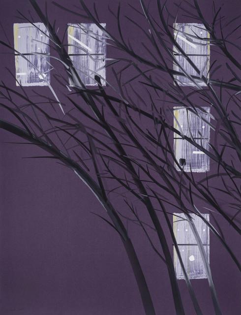 , 'Purple Wind,' 2017, Meyerovich Gallery
