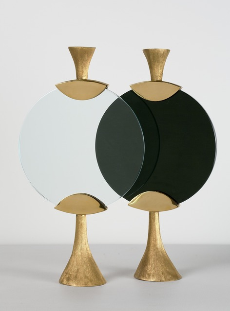 """, '""""Moon,"""" Candlestick in Black or White,' 2013, Maison Gerard"""