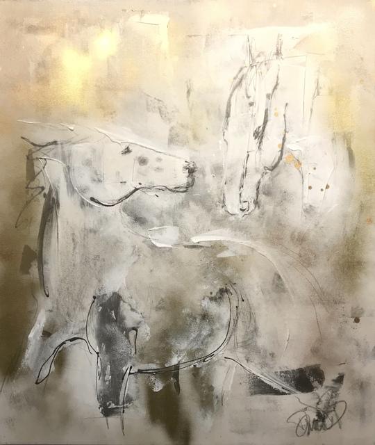 , 'Eohippus (Ancient Heard),' ca. 2016, {9} The Gallery