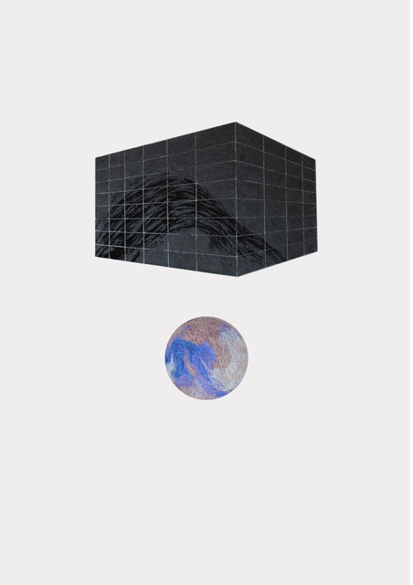 , 'Wave Block,' 2016, BERLIN BLUE art