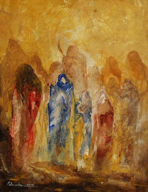 , 'Untitled,' 2014, Hafez Gallery