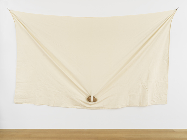 Keiji Uematsu, 'Triangle - Stone/Cloth', 1979, Simon Lee Gallery