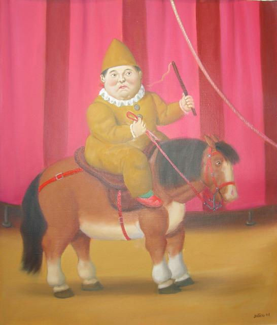 , ' Dwarf on a horse,' 2008, Galleria Tega