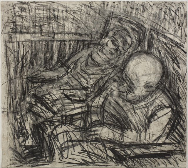 , 'Two Seated Figures No. 5,' 1980, Piano Nobile