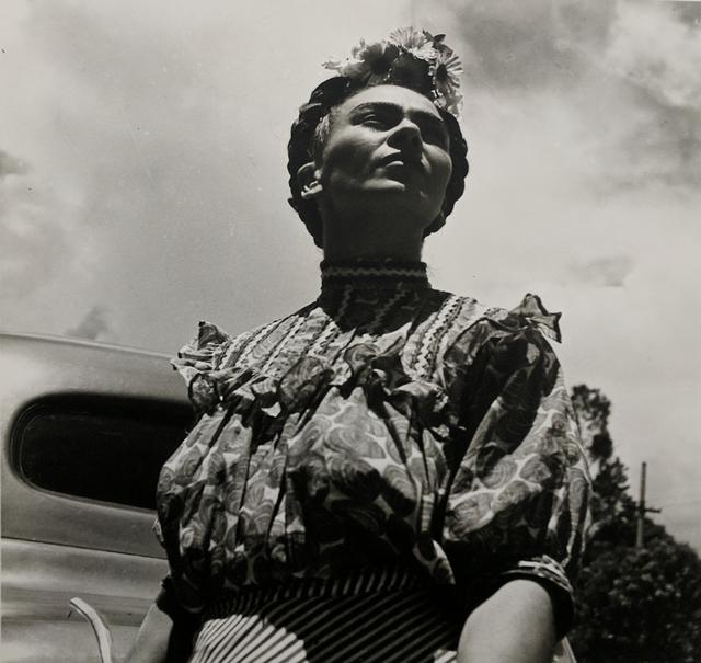 Leo Matiz, 'Frida Kahlo with car', 1946 [printed 1997], Westwood Gallery NYC