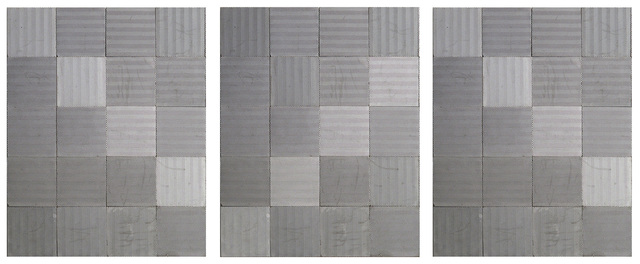 , 'Pavimento inverso sobre patrón contínuo,' 2017, Galería Pelaires