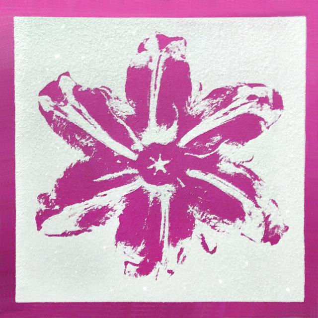 Rubem Robierb, 'Power Flower - Pink on White', 2018, Taglialatella Galleries
