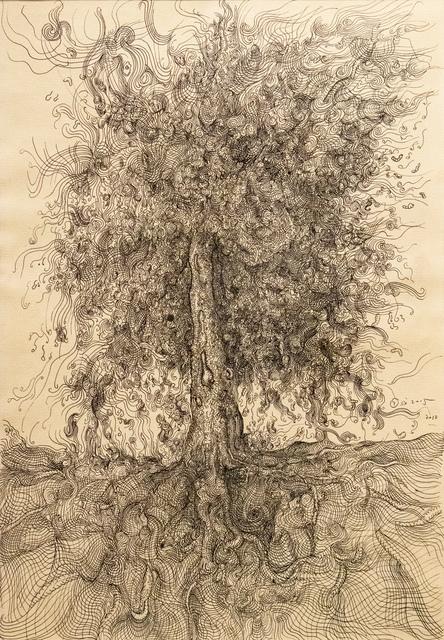 , 'Tree IV 树 四,' 2010, Galerie Dumonteil