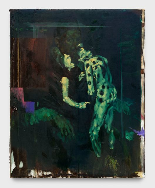 Matthieu Ronsse, 'Jan Toch', 2018, Painting, Oil on canvas, Almine Rech
