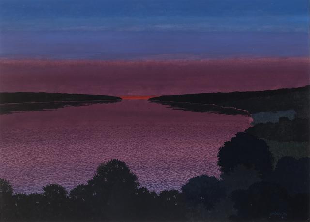, 'Moody River,' 2013, Mac-Gryder Gallery