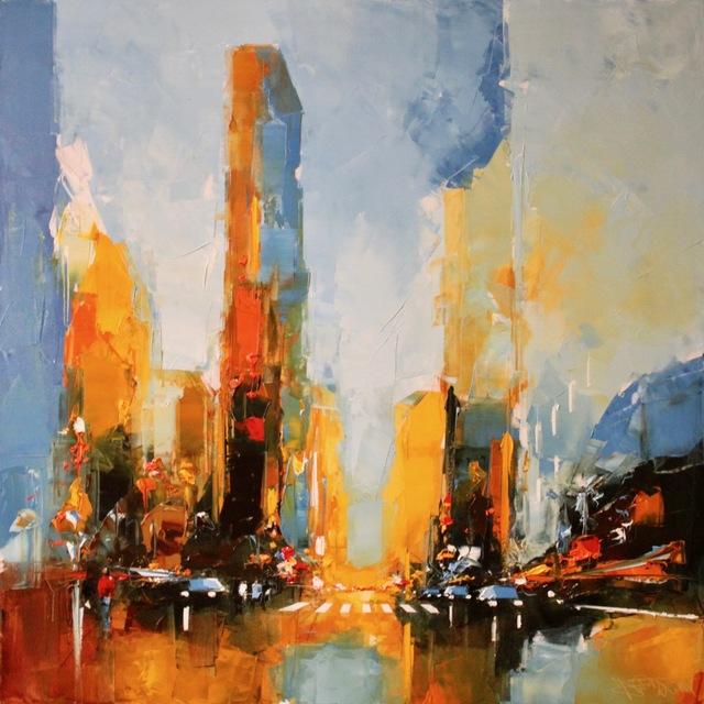 , 'Times Square,' 2017, Galerie A. Leadouze