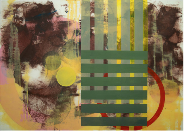 , 'Untitled (Green Grid),' 2014, ART MORA