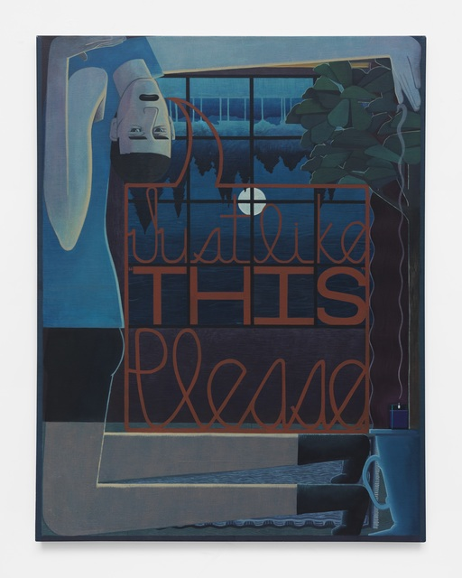 , 'Just Like This Please,' 2016, DC Moore Gallery