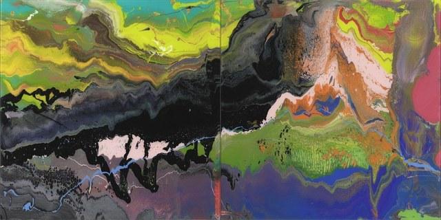 Gerhard Richter, 'Flow (P16)', 2016, Harper Deyong
