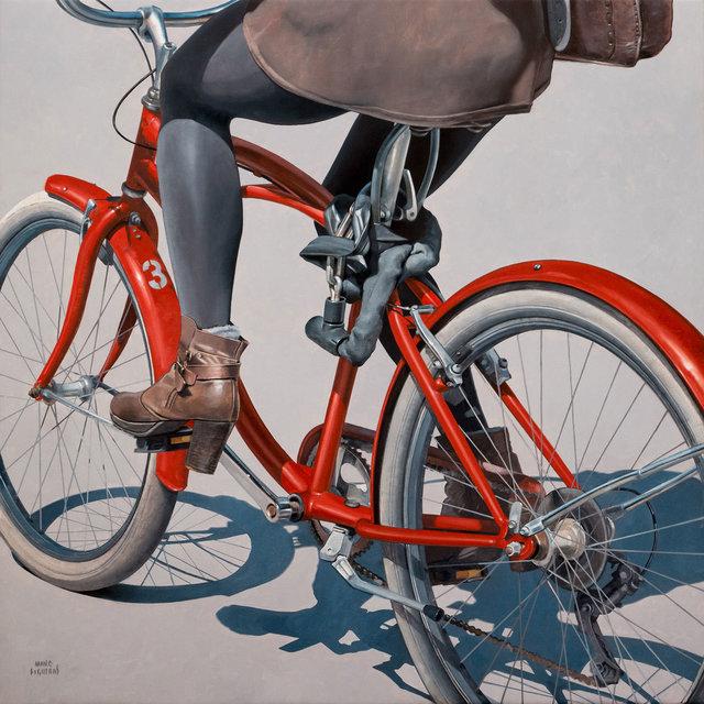 Marc Figueras, 'Vélo rouge', ca. 2019, GALERIA JORDI BARNADAS