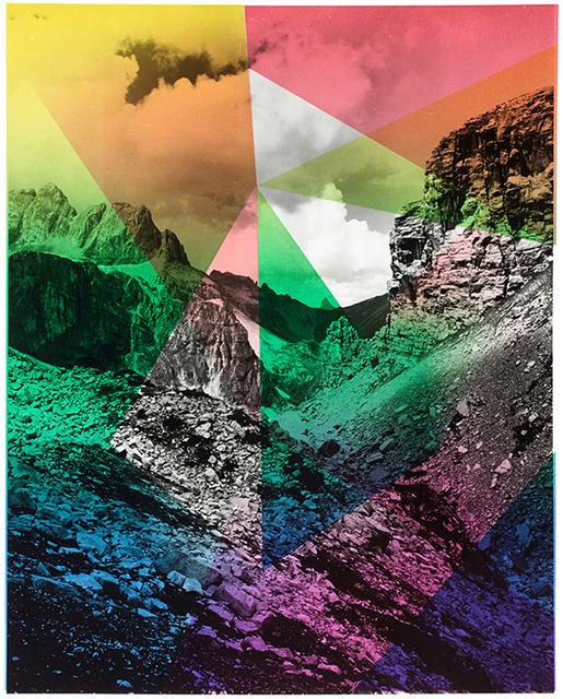 , 'Composition with Mountain, For Parkett 94,' 2014, Parkett