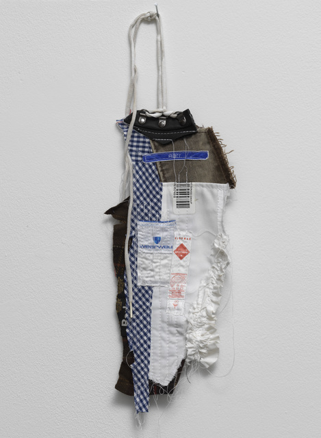 Tenant of Culture, 'Untitled', 2020, Mixed Media, Mixed recycled textiles, eyelets, thread, Galerie Fons Welters
