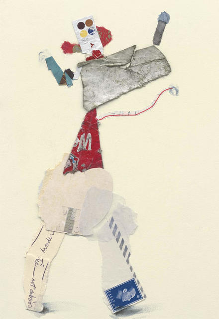 Ben Schonzeit, 'Not Obvious, Mix Media Collage Series', 2015, Holden Luntz Gallery